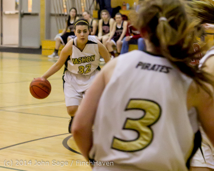 4324 Girls JV Basketball v Sea-Chr 012414