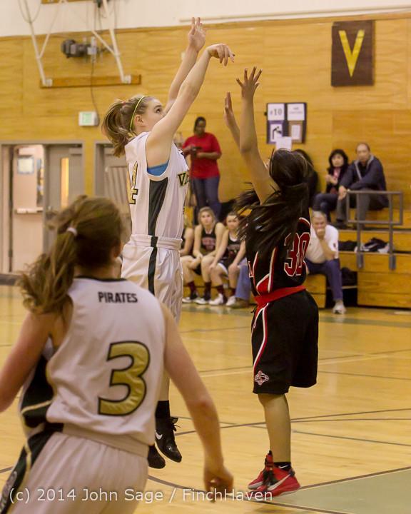 4338 Girls JV Basketball v Sea-Chr 012414