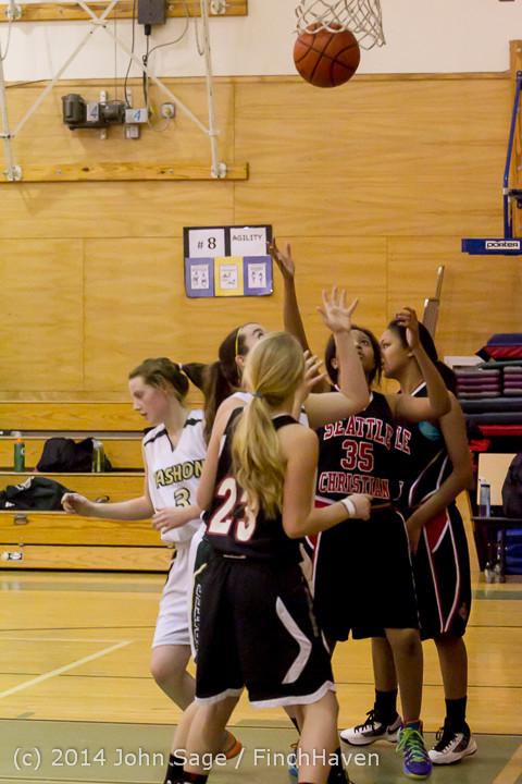 4352 Girls JV Basketball v Sea-Chr 012414
