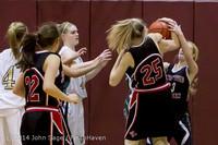 4425 Girls JV Basketball v Sea-Chr 012414