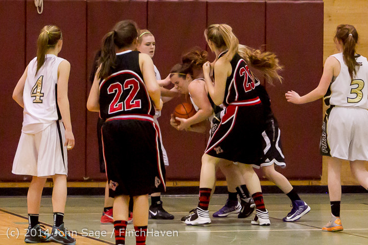 4428 Girls JV Basketball v Sea-Chr 012414