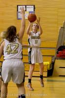 4444 Girls JV Basketball v Sea-Chr 012414