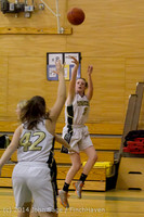 4445 Girls JV Basketball v Sea-Chr 012414