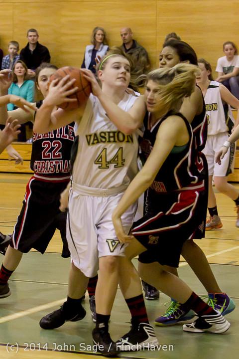 4469 Girls JV Basketball v Sea-Chr 012414