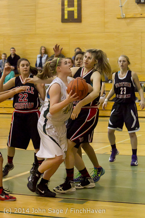 4471 Girls JV Basketball v Sea-Chr 012414