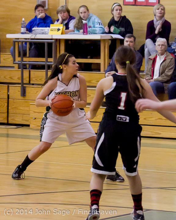 4501 Girls JV Basketball v Sea-Chr 012414