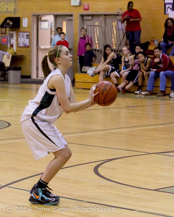 4504 Girls JV Basketball v Sea-Chr 012414