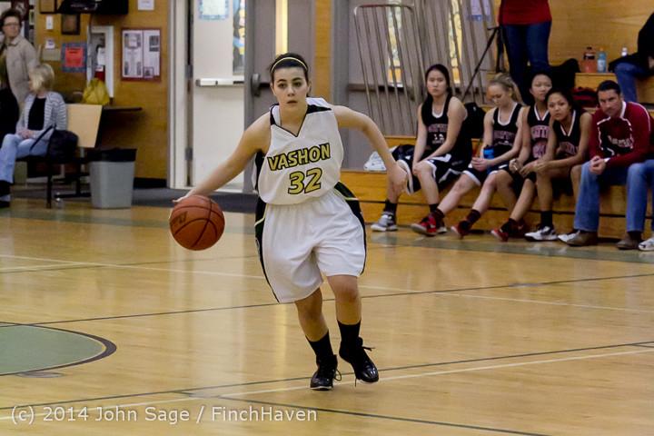 4530 Girls JV Basketball v Sea-Chr 012414