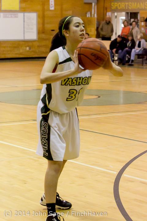 4539 Girls JV Basketball v Sea-Chr 012414