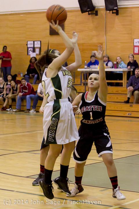 4547 Girls JV Basketball v Sea-Chr 012414