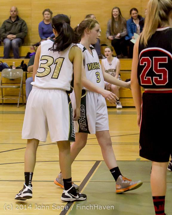 4572 Girls JV Basketball v Sea-Chr 012414