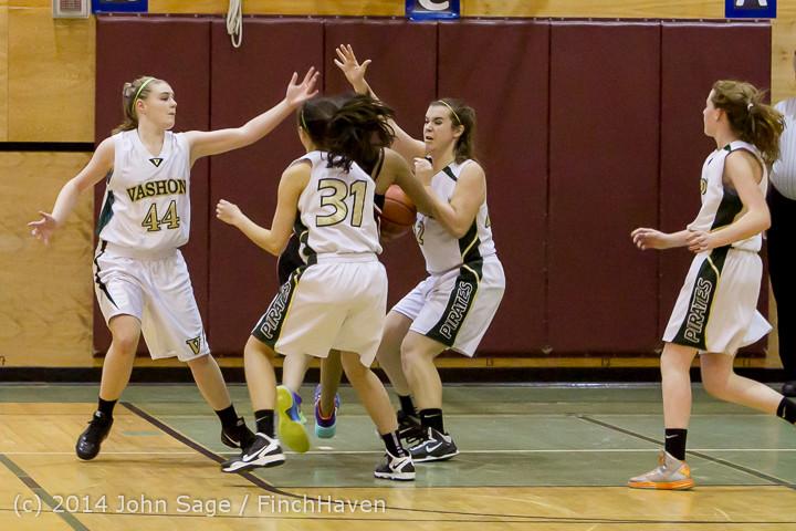4624 Girls JV Basketball v Sea-Chr 012414