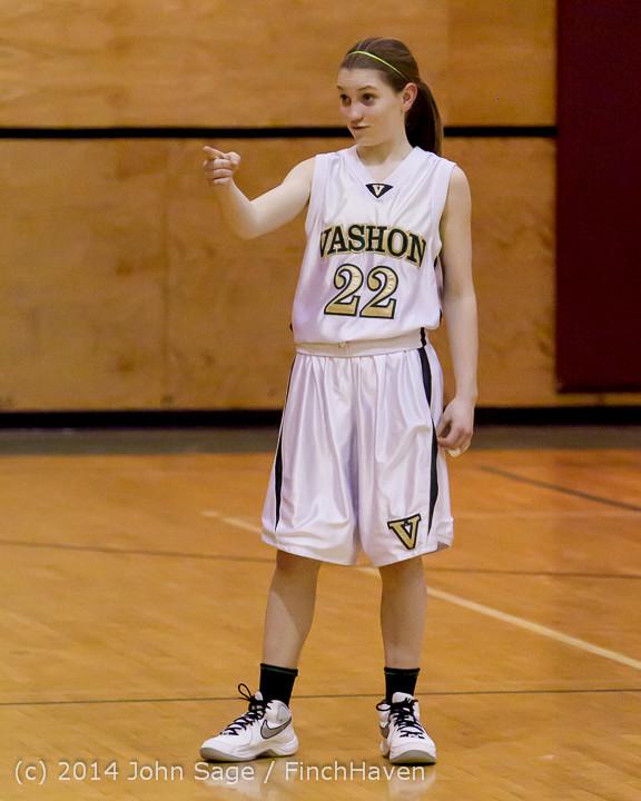 4658 Girls JV Basketball v Sea-Chr 012414