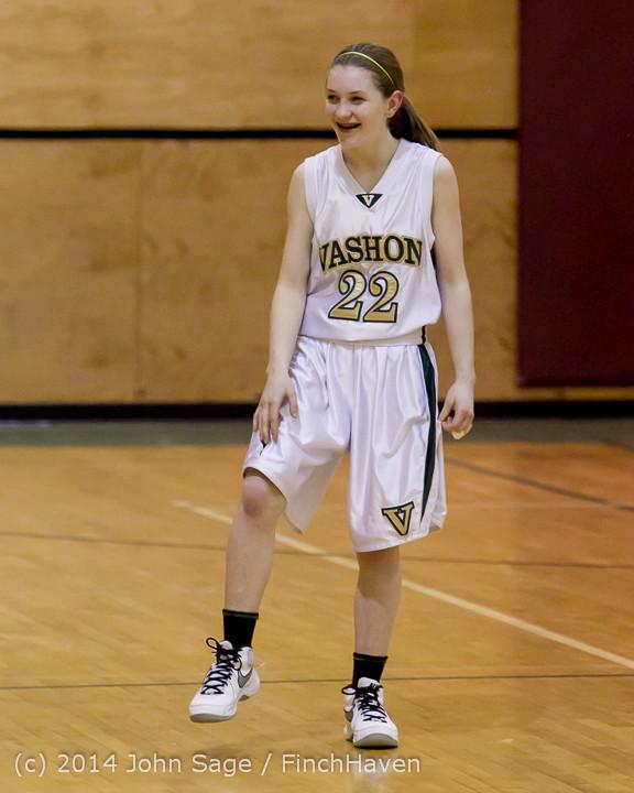 4662 Girls JV Basketball v Sea-Chr 012414