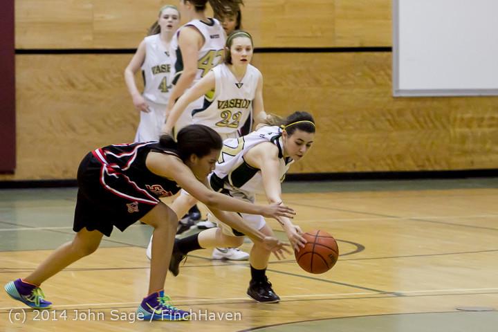 4693 Girls JV Basketball v Sea-Chr 012414