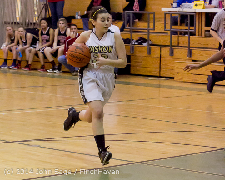 4713 Girls JV Basketball v Sea-Chr 012414