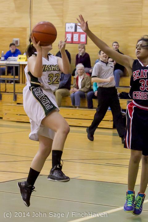 4716 Girls JV Basketball v Sea-Chr 012414