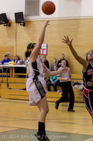 4717 Girls JV Basketball v Sea-Chr 012414