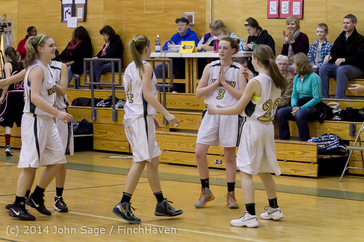 4741 Girls JV Basketball v Sea-Chr 012414