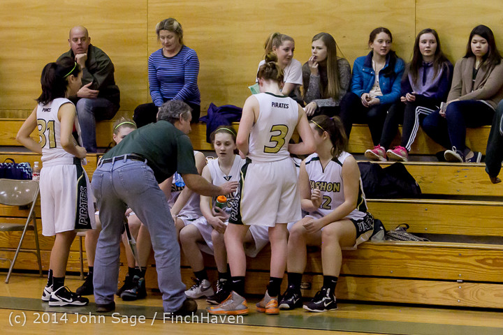 4753 Girls JV Basketball v Sea-Chr 012414