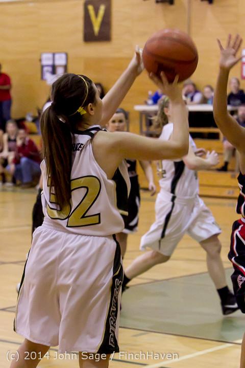 4811 Girls JV Basketball v Sea-Chr 012414