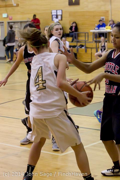 4862 Girls JV Basketball v Sea-Chr 012414