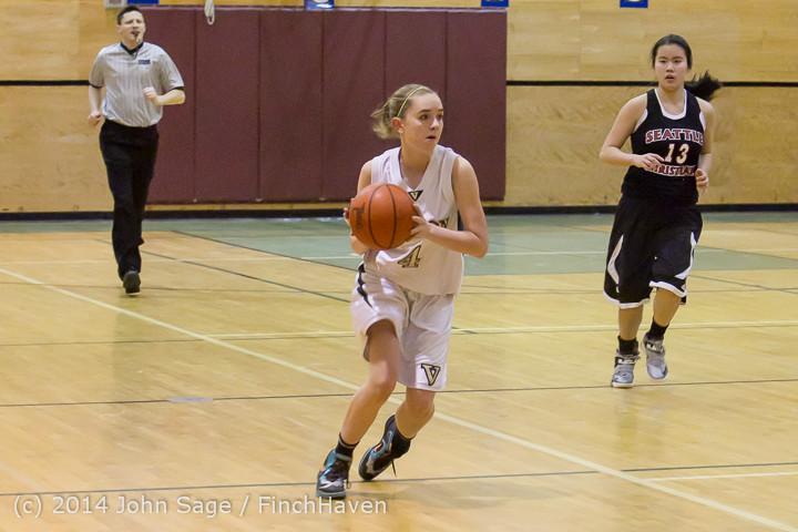 4889 Girls JV Basketball v Sea-Chr 012414