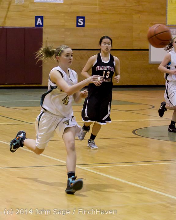 4891 Girls JV Basketball v Sea-Chr 012414