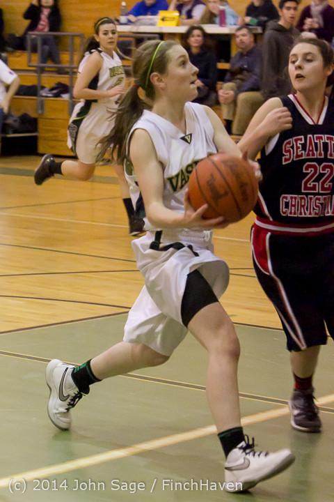 4911 Girls JV Basketball v Sea-Chr 012414