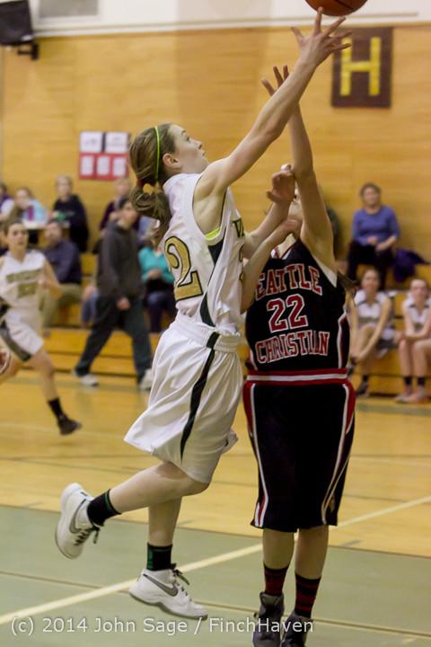 4913 Girls JV Basketball v Sea-Chr 012414