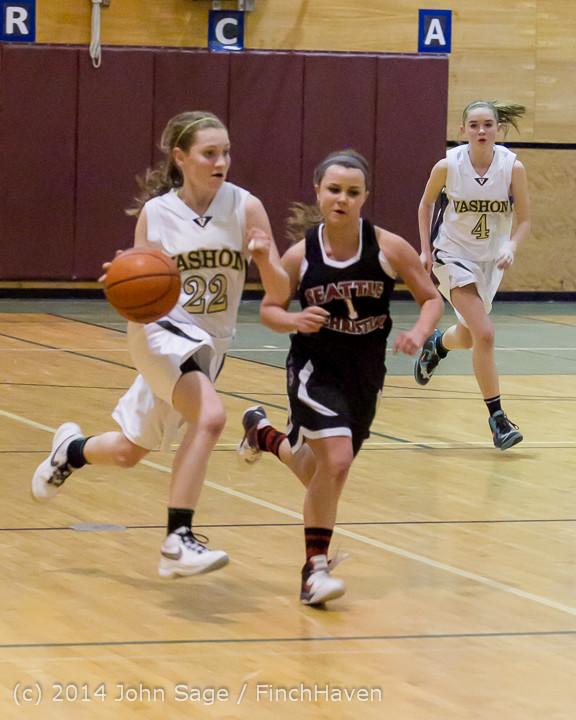 4976 Girls JV Basketball v Sea-Chr 012414