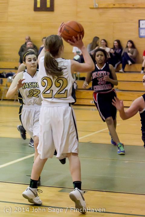 4992 Girls JV Basketball v Sea-Chr 012414