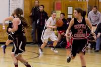 5030 Girls JV Basketball v Sea-Chr 012414