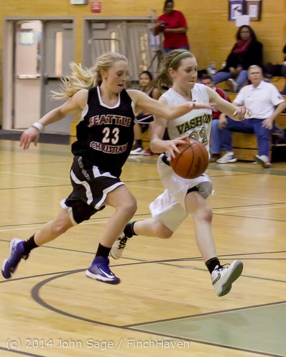 5052 Girls JV Basketball v Sea-Chr 012414