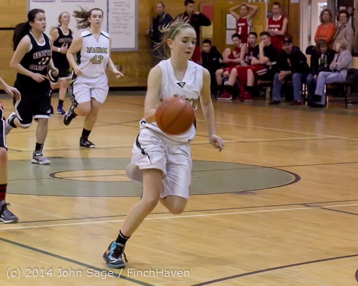 5064 Girls JV Basketball v Sea-Chr 012414