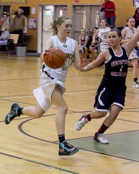 5068 Girls JV Basketball v Sea-Chr 012414