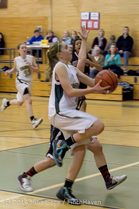 5071 Girls JV Basketball v Sea-Chr 012414