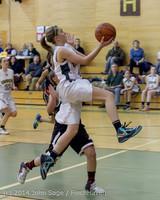 5072 Girls JV Basketball v Sea-Chr 012414