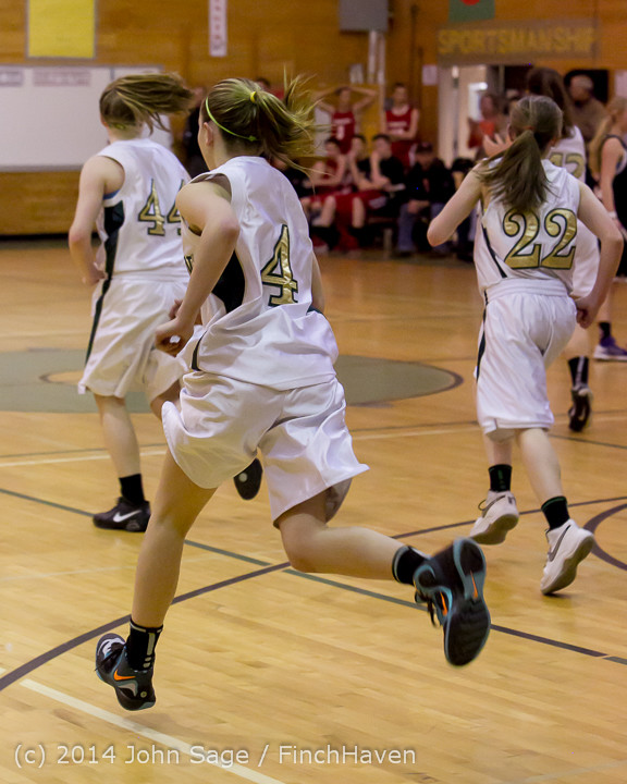 5096 Girls JV Basketball v Sea-Chr 012414