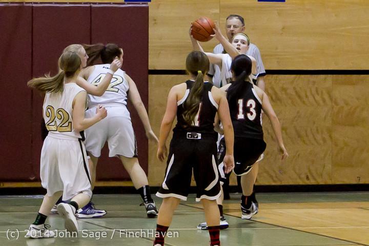 5112 Girls JV Basketball v Sea-Chr 012414