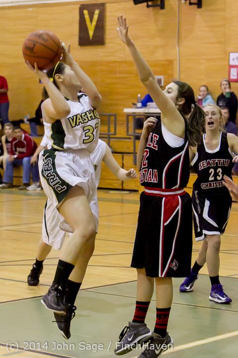 5129 Girls JV Basketball v Sea-Chr 012414