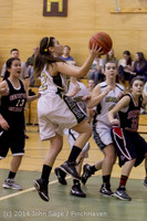 5195 Girls JV Basketball v Sea-Chr 012414