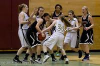 5233 Girls JV Basketball v Sea-Chr 012414