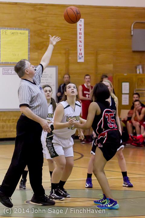 5378 Girls JV Basketball v Sea-Chr 012414