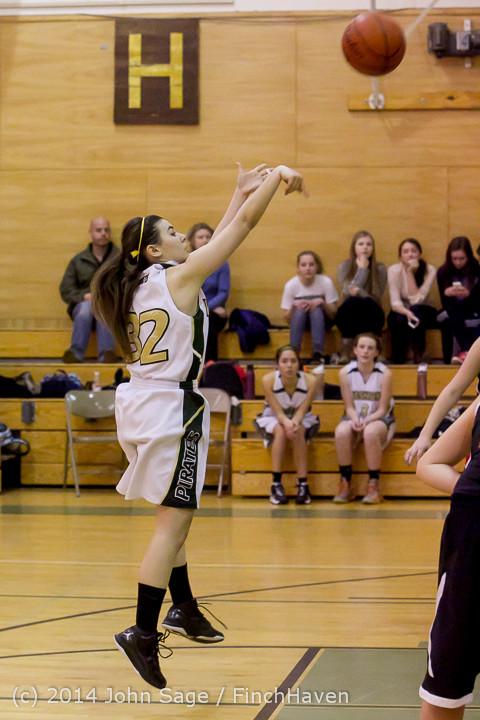5394 Girls JV Basketball v Sea-Chr 012414