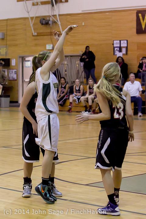 5407 Girls JV Basketball v Sea-Chr 012414