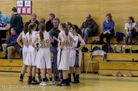 5444 Girls JV Basketball v Sea-Chr 012414