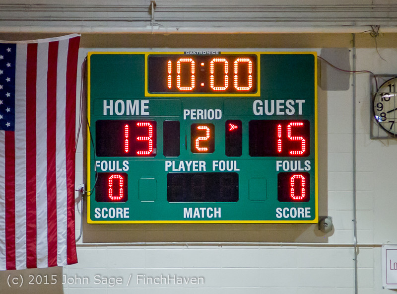 2822 Girls JV BBall v Port Angeles 120914