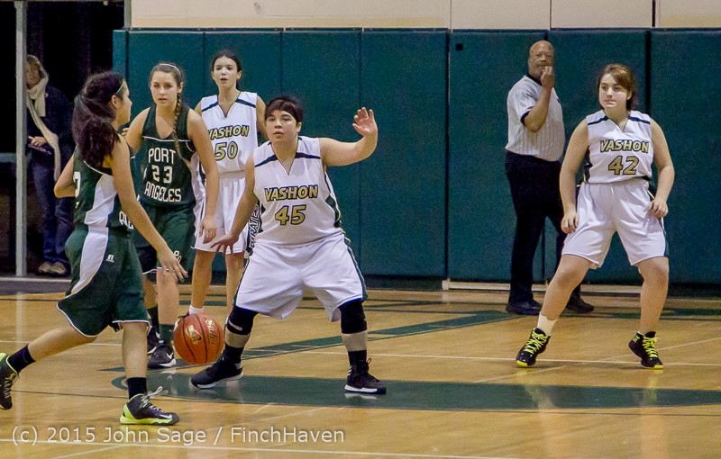 3050 Girls JV BBall v Port Angeles 120914