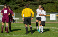 4676 Girls JV Soccer v NW-School 100814